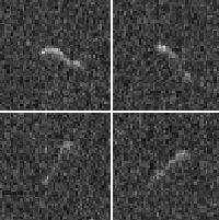 Último momento: Imágenes del radar de Arecibo proporcionan una primera vista del núcleo de Hartley.